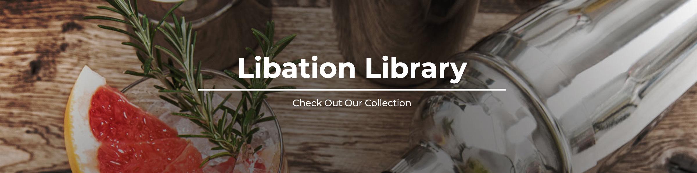 Libation Library Header Image