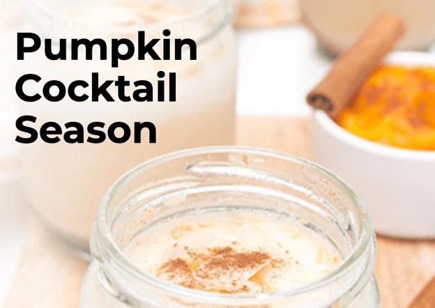 Pumpkin Cocktail Season