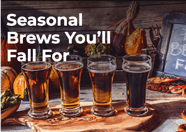 Seasonal Brews You'll Fall For