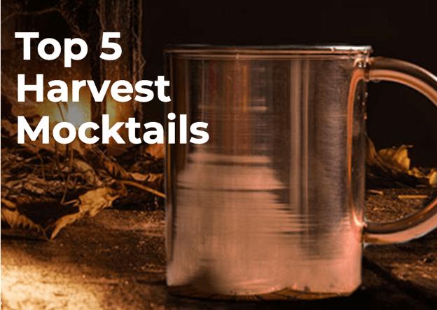 Top 5 Harvest Mocktails