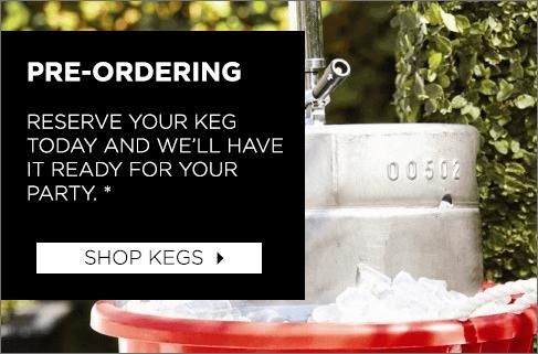 Beer 101 Guide Pre-Order Kegs